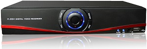 DVR 5 in 1: AHD, TVI, CVI, analog, IP. Compresie H.264, 4 Megapixeli, cloud (P2P)